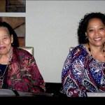 Rosa Lee Hellams and Patricia Edwards