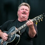 GEORGE, WA - AUGUST 02:  Joe Diffie performs on stage at the Watershed Music Festival 2014 at The Gorge on August 2, 2014 in George, Washington.  (Photo by Suzi Pratt/FilmMagic)